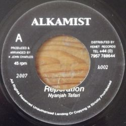 Nyanjah Tafari , Kelly Mix - Reperation , Anu Rythm - 7""