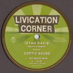 Izyah Davis /  Coptic Sound - Jah Jah's Loving / No More War - 10""