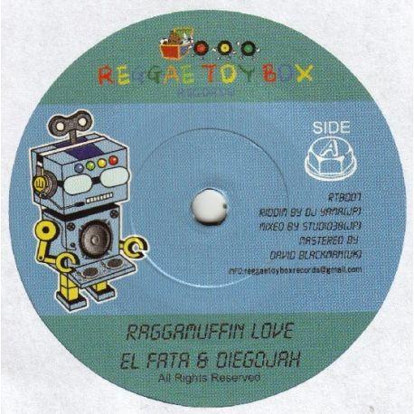 """El Fata /  Diegojah /  Ninety-U - Raggamuffin Love / Yoru Wo Kanetsu - 7"""""""