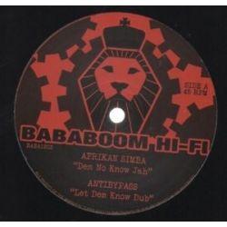 """Afrikan Simba - Dem No Know Jah - 12"""""""