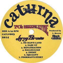 Leroy Brown  - 70's Reggae Style - LP