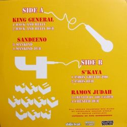 King General /  Sandeeno /  S'Kaya /  - 4 The Hard Way - 12""