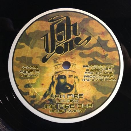 """Luciano  - Jah Fire - 10"""""""