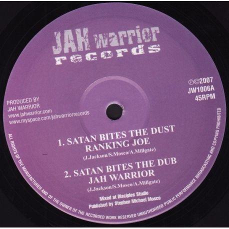 """Ranking Joe /  Lutan Fyah - Satan Bites The Dust / Things Better Now - 10"""""""