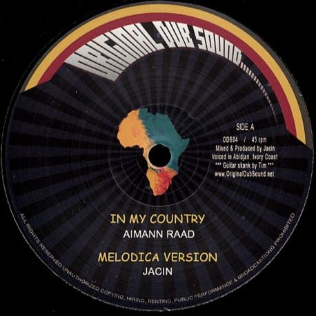 Aimann Raad /  Jacin - In My Country - 12""