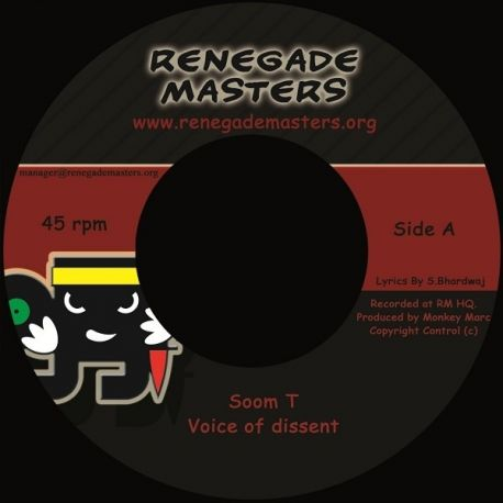 MC Soom-T - Voice Of Dissent - 7""