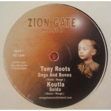 """Tony Roots & Nassadjah - Dogs And Bones , L'Homme - 12"""""""