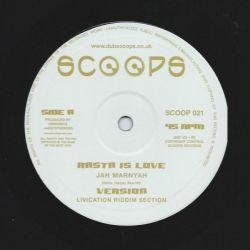 "Jah Marnyah /  Ras Iyahkayah - Rasta Is Love / Good Life - 10"""