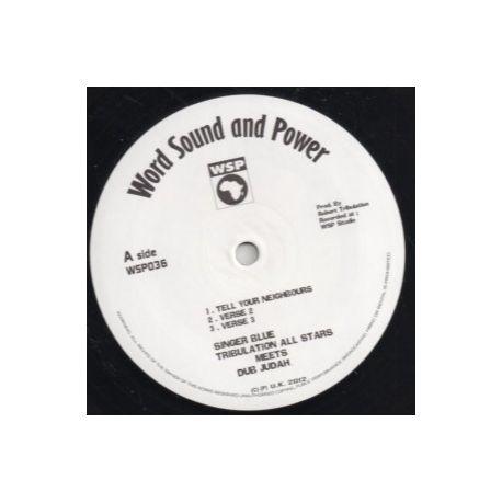 """Singer Blue /  Tribulation All Stars /  Dub Judah - Tell Your Neighbours / Rise Up - 12"""""""