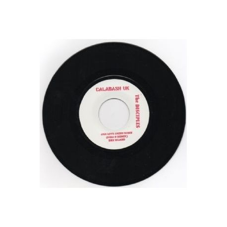 Dre Island /  The Disciples  - Jah Love Shine Down  - 7""