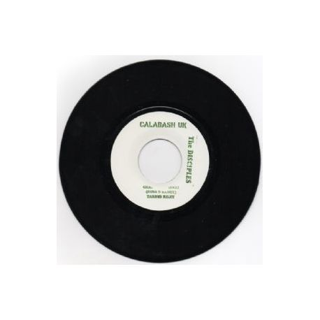 Tarrus Riley /  The Disciples  - Chant Rastafari - 7""