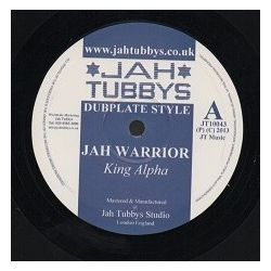 King Alpha /  Cyrenius Black - Jah Warrior / I Love Jah Jah - 10""