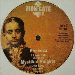 Rasheda / Mystikal Heights / Avaran / Zion Gate Players ‎– I Love Jah / 12""