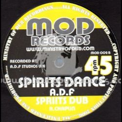 Cornerstone Rockers /  Apocalypse Dub Faction - Flute On Fire / Spirits Dance - 10""