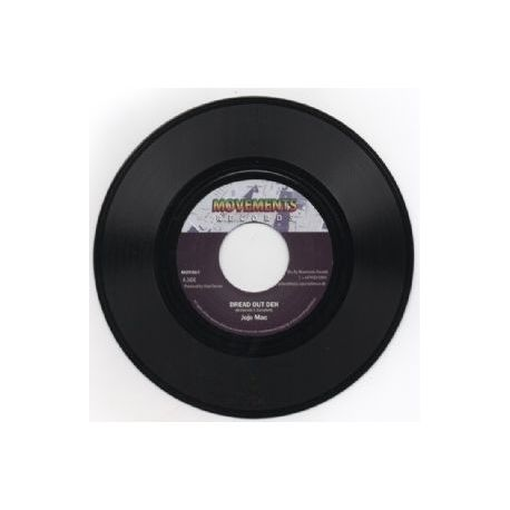 Jojo Mac /  The Disciples  /  Dougie Wardrop - Dread Out Deh - 7""