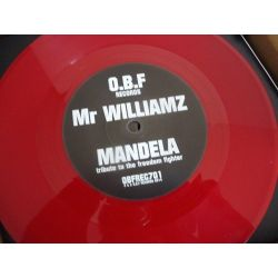 O.B.F. /  Mr Williamz - Mandela - 7""