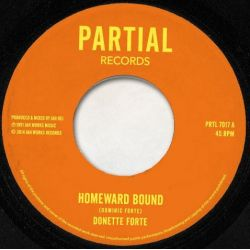 Donette Forte - Homeward Bound / Dub Train - 7""