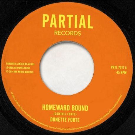 "Donette Forte - Homeward Bound / Dub Train - 7"""