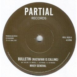 Mikey General - Bulletin (Rastafari is Calling) - 7""