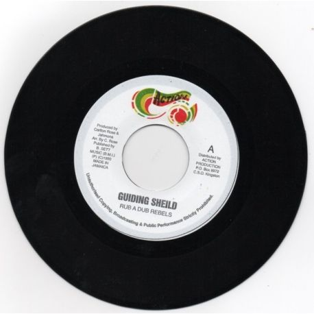 """Rub A Dub Rebels - Guiding Shield - 7"""""""