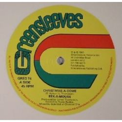 Eek-A-Mouse /  Lee Van Cleef  - Christmas-A-Come / Gone Water Gone  - 12""