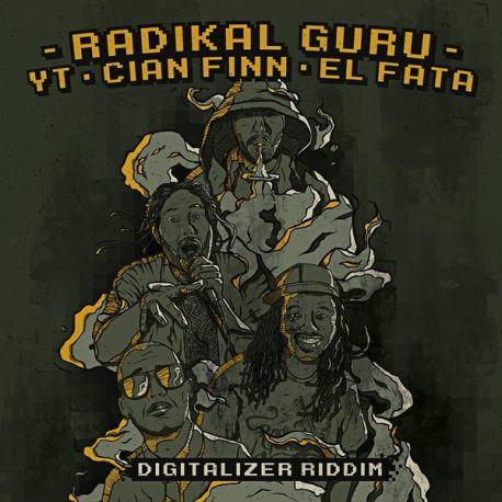 "Radikal Guru - Digitalizer Riddim - 12"""
