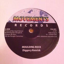 """Diggory Kenrick - Moulding Rock - 10"""""""