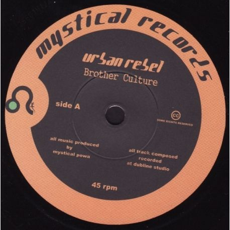 Brother Culture - Urban Rebel - 7""
