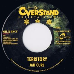 Jah Cure /  Jesse Royal - Territory / Preying On The Weak  - 7""