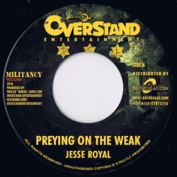"""Jah Cure /  Jesse Royal - Territory / Preying On The Weak  - 7"""""""