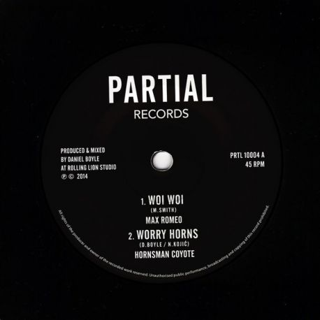 Max Romeo - Woi Woi / Worry Horns / Worry In Dub - 10""