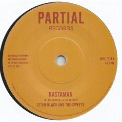 """Istan Black and The Sweets - Rastaman / Lost Ark In Dub - 7"""""""