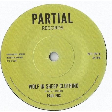 Paul Fox  - Wolf In Sheep Clothing - 7""