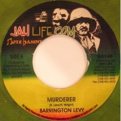 Barrington Levy - Murderer - 7""