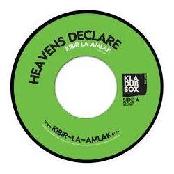 "Kibir La Amlak - Heavens Declare - 7"""