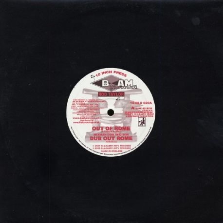 Rod Taylor /  Mixman - Out Of Rome / Ibo Warrior - 10""