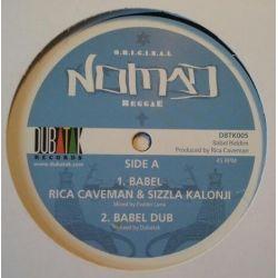 "Rica Caveman /  Sizzla - Babel - 12"""