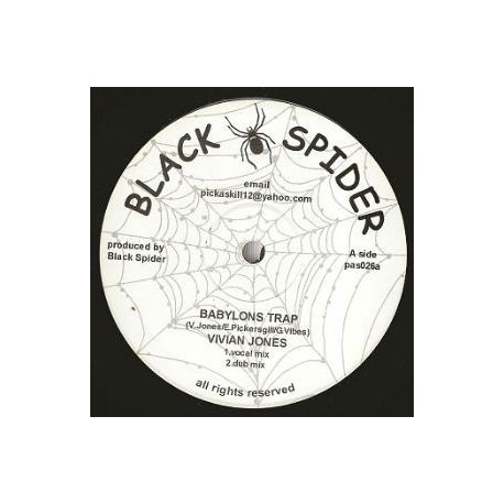 Vivian Jones,  David Jahson ‎– Babylons Trap , Praise Him Jah - 10''