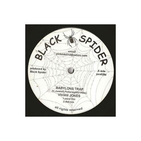 Vivian Jones,  David Jahson – Babylons Trap , Praise Him Jah - 10''