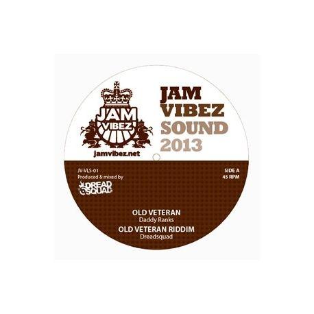 "Jam Vibez - Old Veteran EP - 12"""