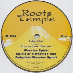 Chazbo /  Empress Shema - Warrior Spirit - 12""
