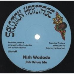 Nish Wadada - Jah Drives Me - 12""