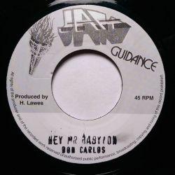 "Don Carlos  - Hey Mr Babylon - 7"""