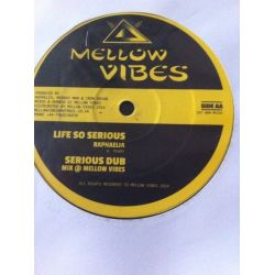 Amelia Harmony /  Raphaelia - Turn On Vibes / Life So Serious - 12""