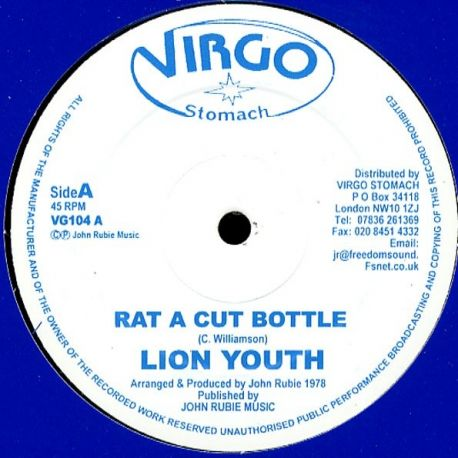 Lion Youth - Rat A Cut Bottle - 12""