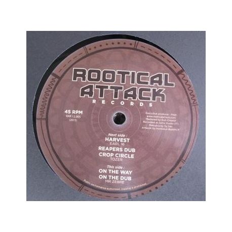 Earl Sixteen /  Tozer  /  Mr. Zebre - Harvest / On The Way - 12""