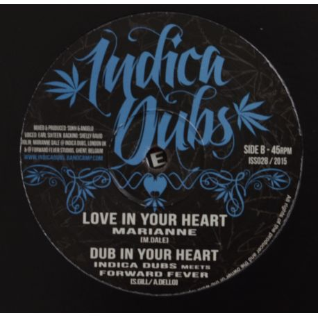 Earl sixteen / Mariane - Let Jah / Love in your heart - 10""