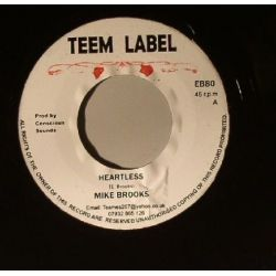 Mike Brooks - Heartless - 7""