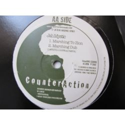 CounterAction Warriors , Jah Mystic - (Babylon) Illusions , Marching To Zion - 10""