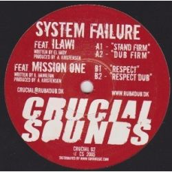 System Failure - Stand Firm , Respect - 10""